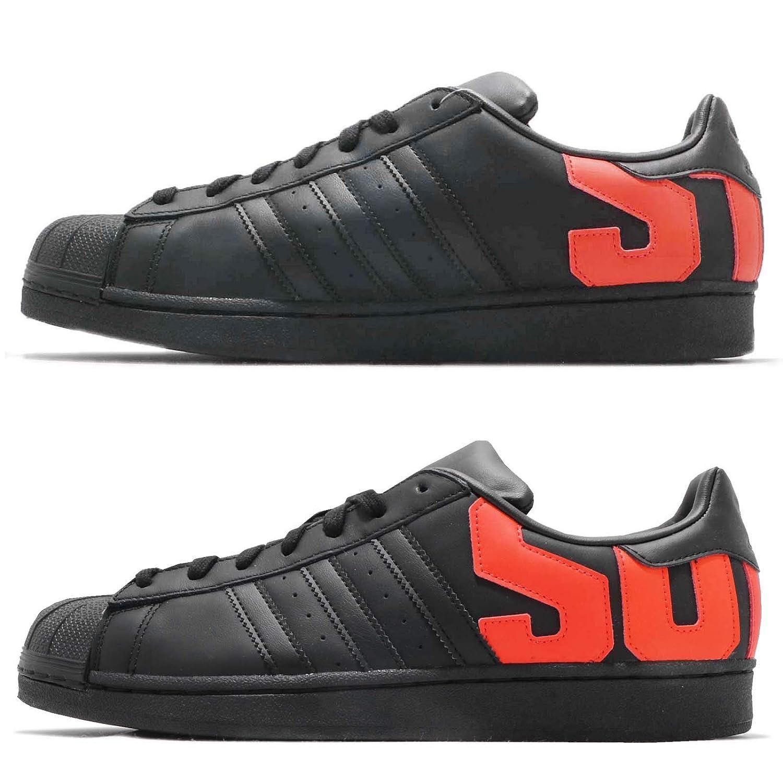 (アディダス) スーパースター メンズ バスケットボール シューズ adidas Originals Superstar B37981 [並行輸入品] B07JJ6XV95 25.5 cm CORE BLACK/CORE BLACK/ORANGE CORE BLACK/CORE BLACK/ORANGE 25.5 cm
