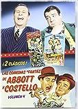 """Las Comedias """"Fantasticas"""" De Abbott Y Costello, Vol. 4 [DVD]"""