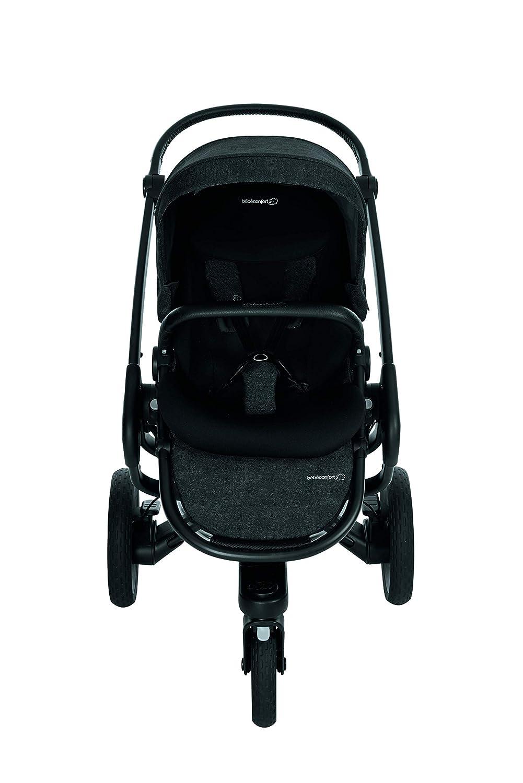 Cochecito Todo Terreno color negro. desde el nacimiento hasta los 3,5 a/ños B/éb/é Confort NOVA 3W Nomad Black