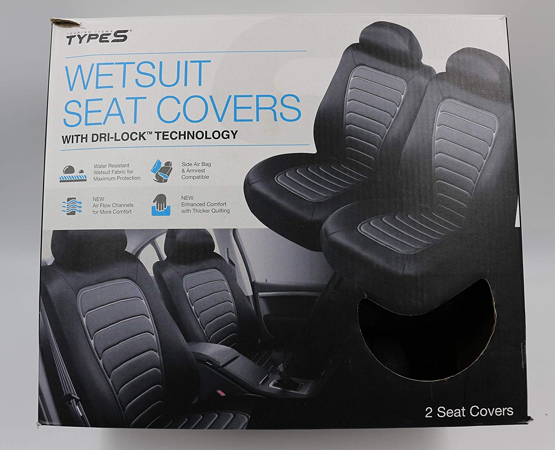 Winplus TypeS Wetsuit Seat Covers w/Dri-Lock Technology by Winplus