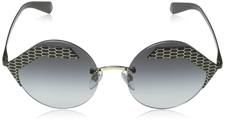 Bulgari 0Bv6089 20288G 55 Gafas de sol, Negro (Black/Grey ...