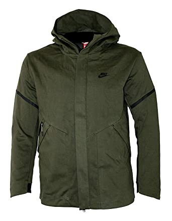 e8d80ae39cbd NIKE Men Sportswear Tech Fleece Repel Windrunner Jacket 867658-325 (Large)