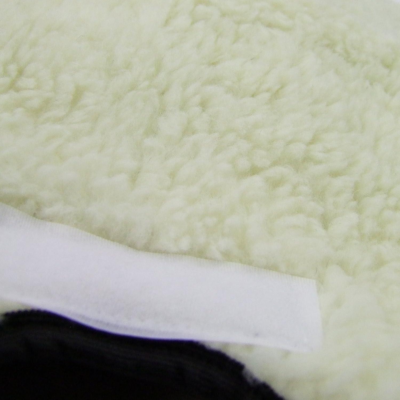 LINIERT Radanh/änger Winterfu/ßsack 90cm aus Lammwolle f/ür Kinderwagen BAMBINIWELT KOMBI-ANGEBOT Muff Buggy WOLLE beige