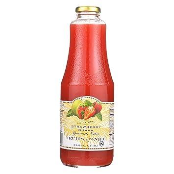 Fruit Of The Nile Nectar - Strawberry Guava - 33 8 oz - case of 6