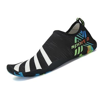 Barefoot Water Shoes Quick Drying Beach Swim Surf Aqua Socks For Women Men Unisex