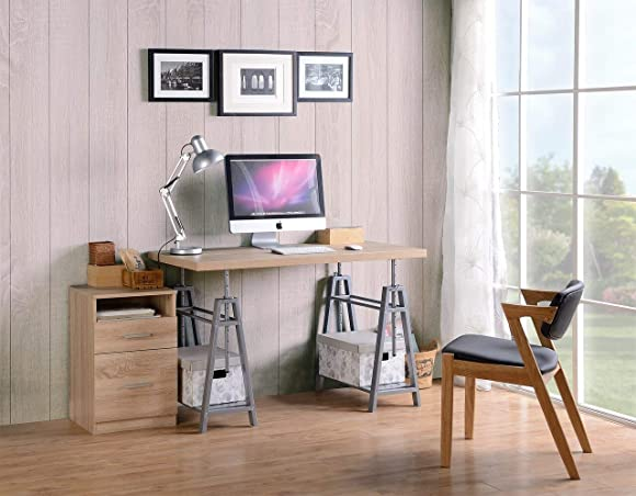 American Furniture Classics OS Home and Office Adjustable Height Writing Desk