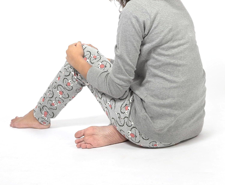 Pijama ELMO-BARRIO SESAMO SMILE para Mujer GISELA (L): Amazon.es: Ropa y accesorios