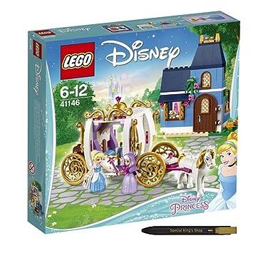 LEGO Disney Princess Cinderella's Enchanted Evening 41146 + Free ...