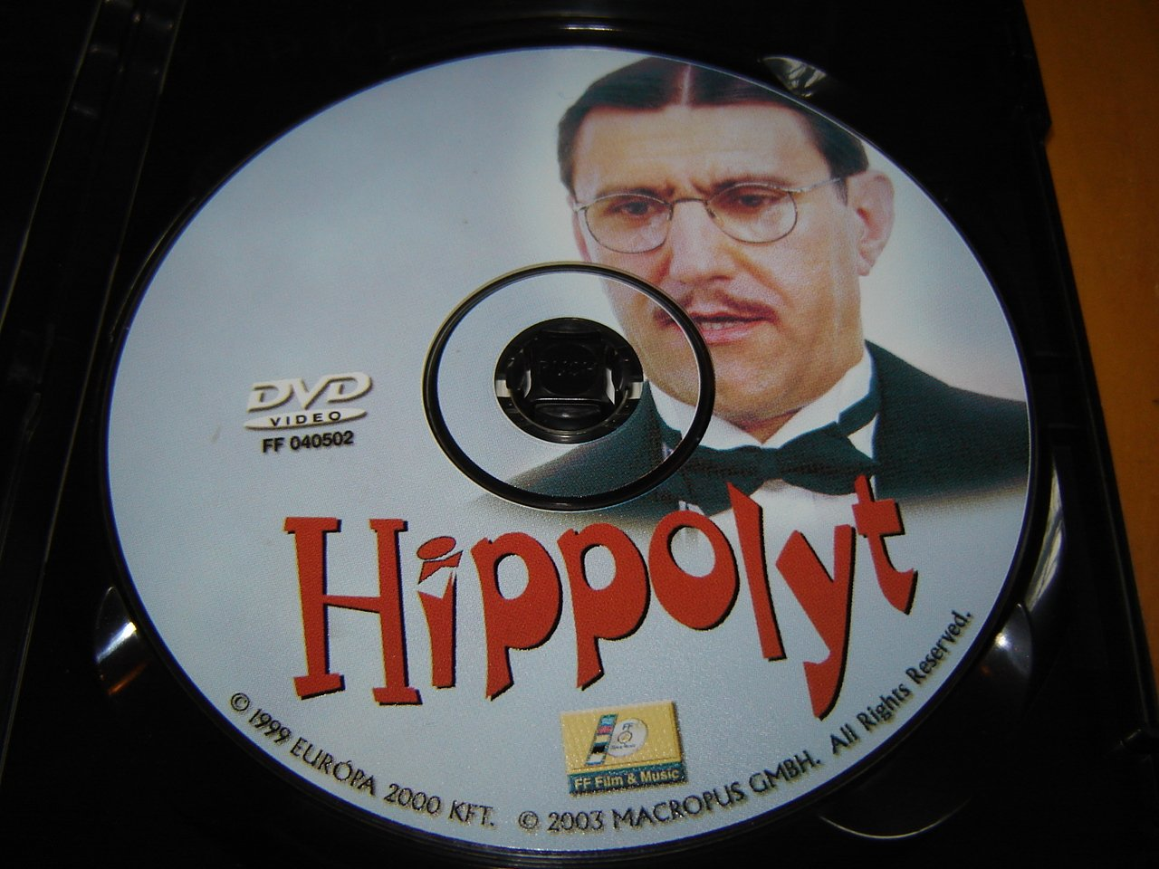Hippolyt 1999 Hungarian Film Amazon Co Uk Károly