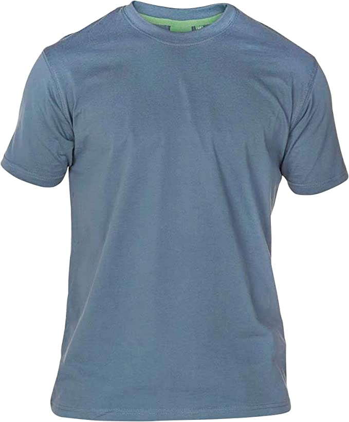 TALLA 5XL. Duke London D555 Talla Grande Hombre Grande Volantes Camiseta Cuello en Pico Rojo 2xl-6xl