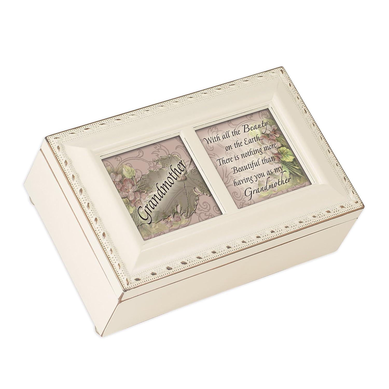 大好き Cottage Garden Petite Light Music Box My - Garden Grandmother Plays Light Up My Life With Ivory Finish B0065OJTB6, リスタコート:7c902829 --- arcego.dominiotemporario.com