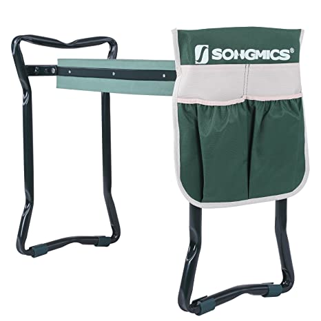 Amazoncom SONGMICS Garden Kneeler Seat with Upgraded Large Tool