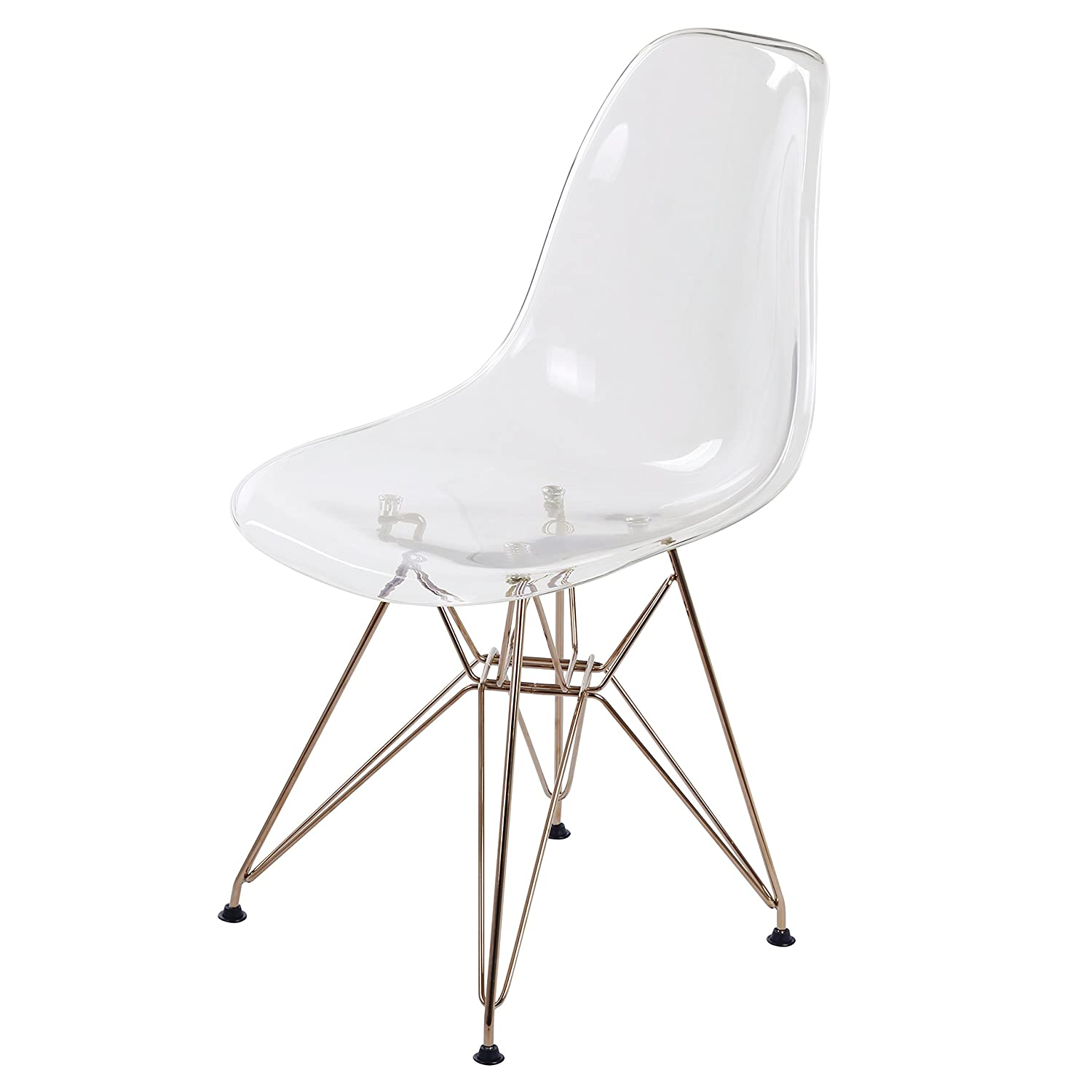 amazon new pacific direct 6100028 tc allen modern plastic chair 50s Style Homes amazon new pacific direct 6100028 tc allen modern plastic chair set of 4 furniture transparent crystal kitchen dining