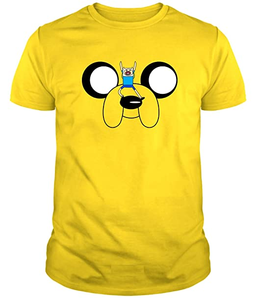 The Fan Tee Camiseta de Hombre Hora de Aventuras Jake Finn FmgNo1d