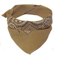 Oramics Bandana Kopftuch Halstuch - gemustert: Paisley Muster - 24 Farben - 100% Baumwolle!