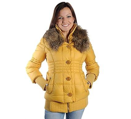 Khujo Iff Damen Winterjacke yellow, XXL [4446]: