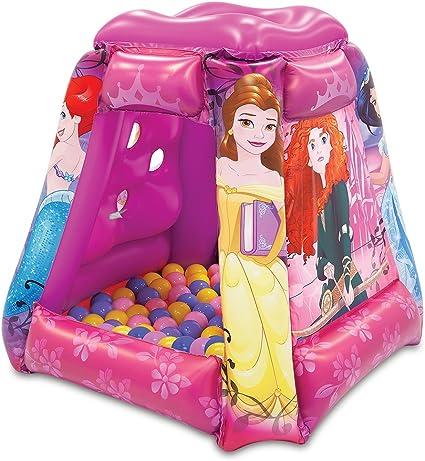 Amazon.com: Disney Princess corazón fuerte Playland con 20 ...