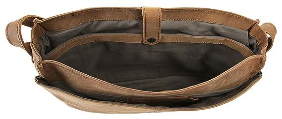 Harold's Ivy Kurier Serviette cuir 40 cm compartiment Laptop natur ZEyB0c