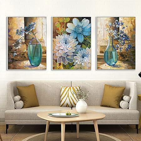 Cadre Photo Mural Européenne Peinture Décorative Fleur