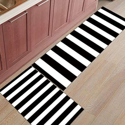Swell Amazon Com Zl Home 2 Pieces Kitchen Rugs And Mats Non Slip Interior Design Ideas Ghosoteloinfo