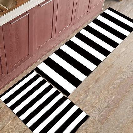 Peachy Amazon Com Zl Home 2 Pieces Kitchen Rugs And Mats Non Slip Download Free Architecture Designs Parabritishbridgeorg