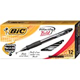Amazon Price History for:BIC Velocity Bold Retractable Ball Pen, Bold Point (1.6mm), Black, 12-Count