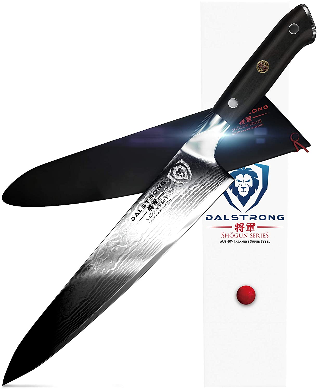 Dalstrong Cuchillo cocinero - Shogun serie Gyuto - AUS-10V-vacío a un tratamiento térmico - 9.5