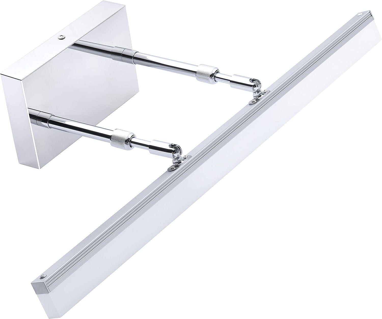 TRLIFE Adjustable LED Bathroom Light Fixture, 24inch Retractable Bathroom Vanity Light Fixture 16W Cool White 6000K LED Vanity Light for Makeup Bathroom Lighting Over Mirror Cabinet Sink
