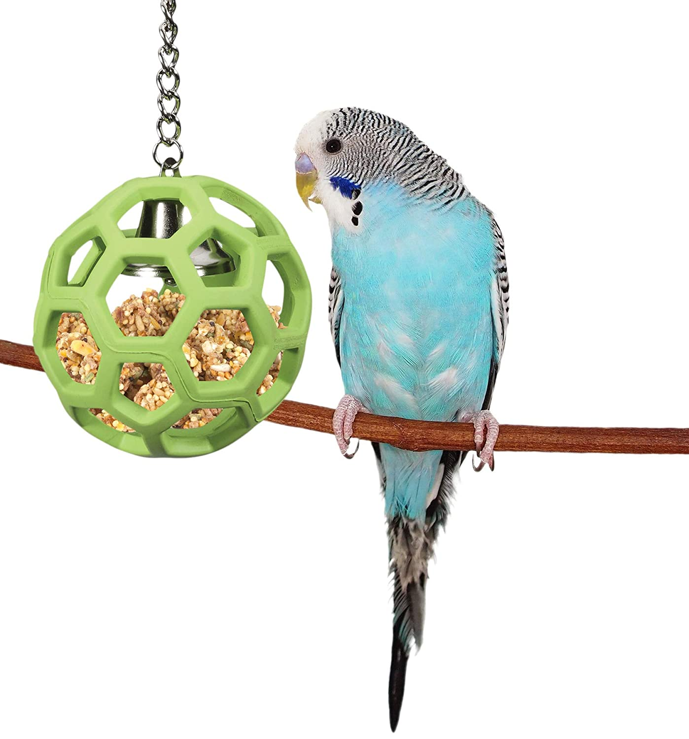 Color May Vary JW Pet Activitoys HOL-ee Roller Bird Toy