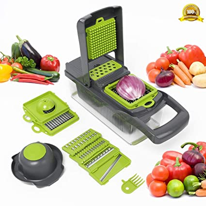 Stainless Steel Fruit Cutter Chopper Peeler Egg Slicer Home Kitchen Tools 2019