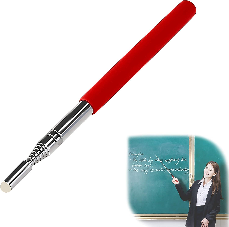 100 Cm Rosso Puntatore Telescopico Acciaio Inossidabile Portatile Mano Puntatore Lavagna Bianca Presentazioni In Aula Insegnante