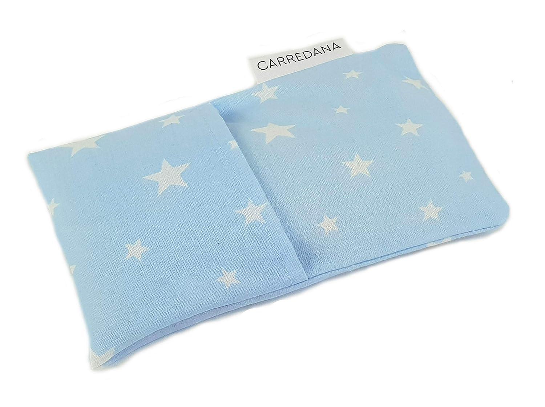 Saco térmico anti-cólicos bebé.Especial recién nacido 17 x 10cm (Azul estrellas): Amazon.es: Bebé
