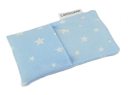 Saco térmico anti-cólicos bebé.Especial recién nacido 17 x 10cm (Azul estrellas