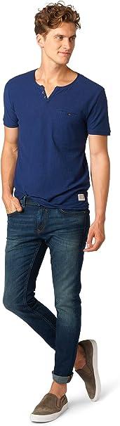 TALLA 29W / 32L. TOM TAILOR DENIM Piers Super Slim, Jeans Hombre