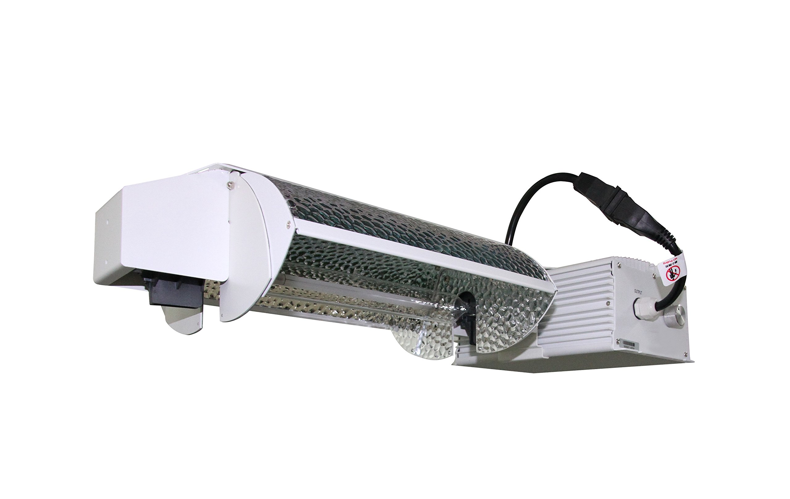 Eagle Bath SH303833-W Sonic Hydro 1000W Dimmable De Lamp Grow Light W/Integrated 3-Mode Adjustable Reflector with Ballast 240V/277V