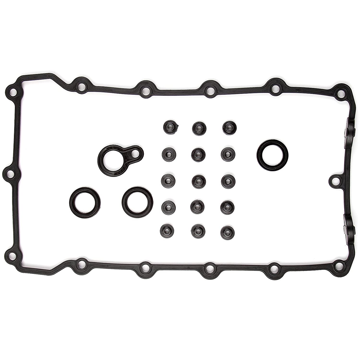 Scitoo Valve Cover Gasket Sets, fit BMW 318i 318is 318ti Z3 1.8L 1.9L M42 M44 1994 – 1999 Engine Valve Covers Gaskets Automotive Replacement Gasket Sets
