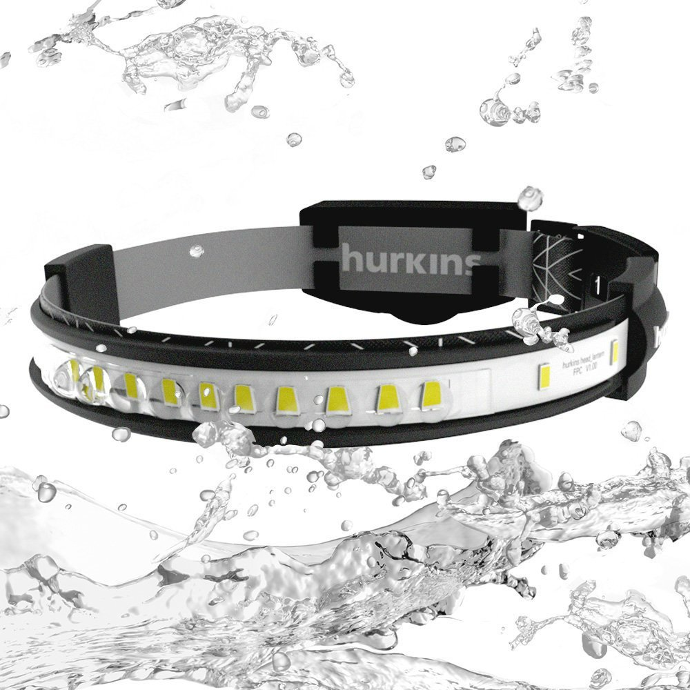 Orbit + Option Gürtel Marine Hurkins Orbit LED Stirnlampe 180 ° Weitwinkel 1000 Lumen wiederaufladbare
