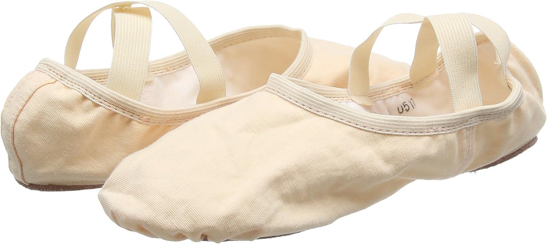 Child, Light Pink So Danca Canvas Ballet Shoe SD16