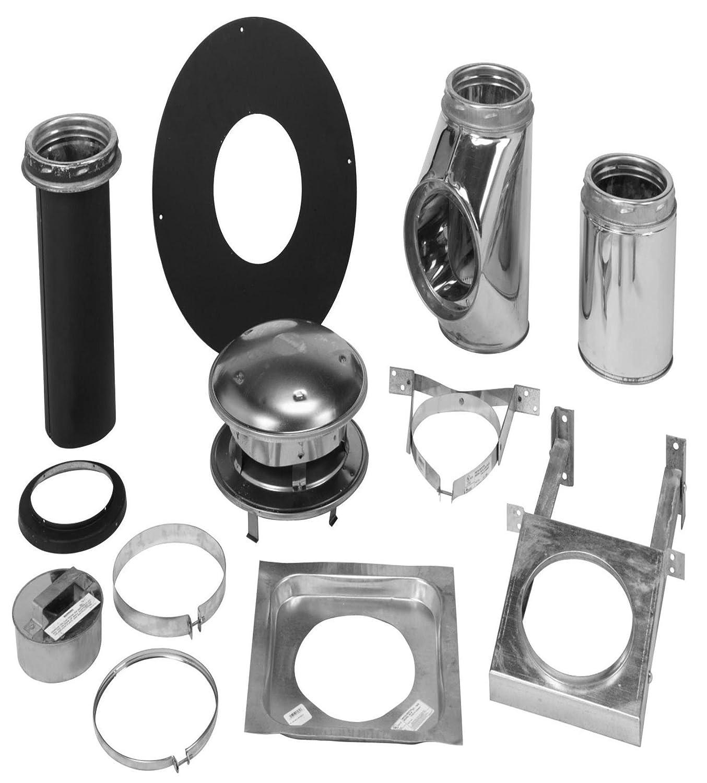 Amazon.com: Selkirk Metalbestos 206622 6-Inch Complete Stove Thru ...