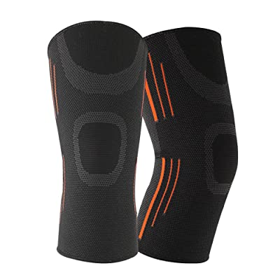 Jinjin Knee Pads for Kids Youth Adult Knee Support Pad Guard Protector Gel Durability and Resists Wear and Tear Perfect to Use for Injury Prevention (BKM): Baby