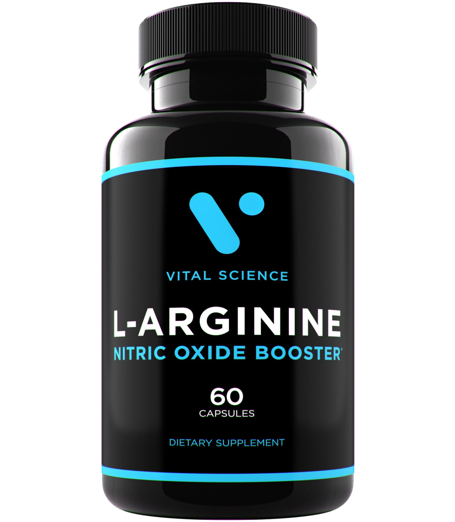 L Arginine L Citrulline Complex Supplement - 1280mg Larginine Capsules - Nitric Oxide Supplements for Men - Pro NO2 Boosters for Bodybuilding, Muscle Growth, Vascularity and Max Workouts