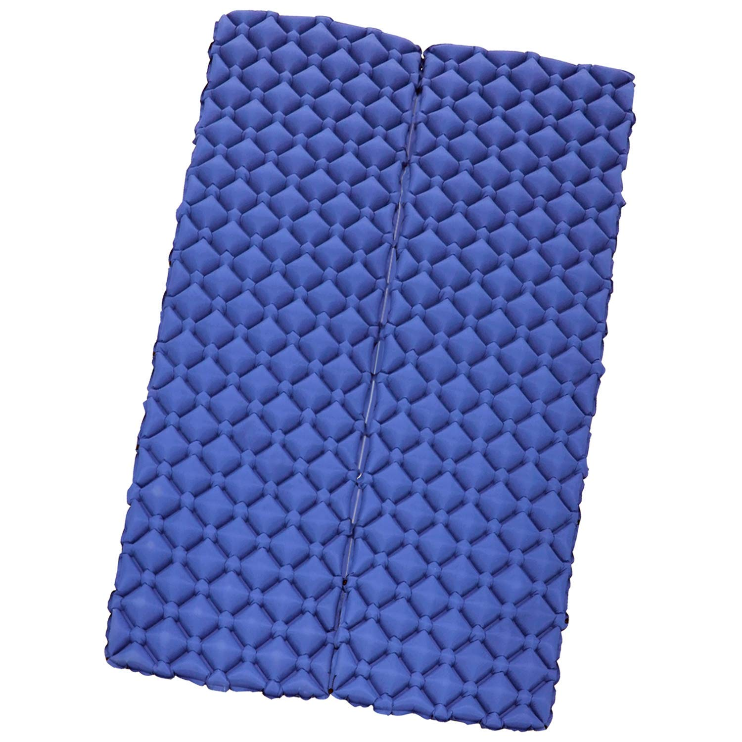 Camping Sleeping Pad for 2 Person - Inflatable Sleeping Pad, Ultralight Sleeping Mat Come with Connect Buckles, Ultralight Air Sleeping Pad, Folding Camping Mat for Outdoor Backpacking Travel