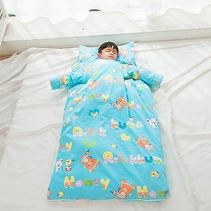 Saco De Dormir De Bebé Manta De Lana De Bebé Otoño E Invierno Fundas De Algodón