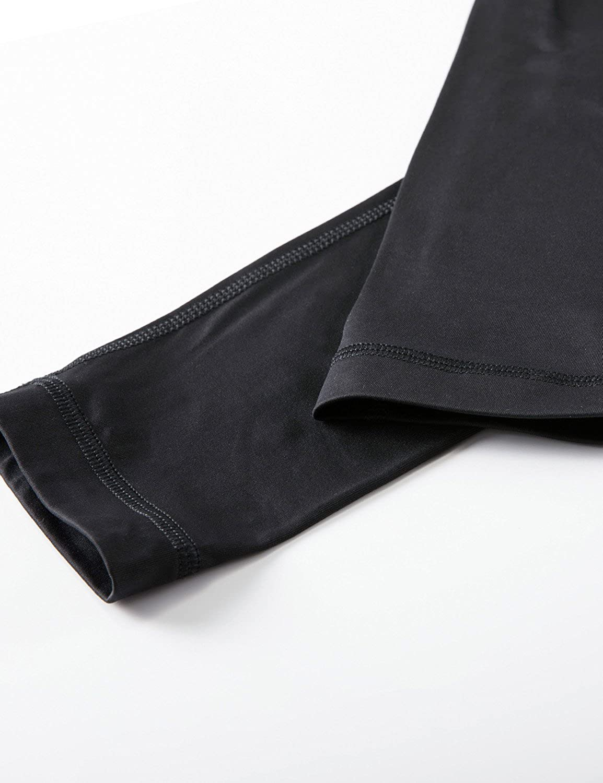 CRZ YOGA Donna Pantaloni da Allenamento Capri Yoga Fitness con Tasche