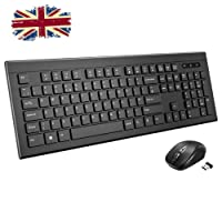 Patuoxun [New Version] Rainbow 7 Colors Led Backlit Gaming Keyboard, USB wired keyboard with Anti-ghosting & 14 Multimedia Buttons, Ergonomic and Spill-Resistance Design, UK QWERTY Layout