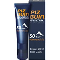 Piz Buin 85579 Mountain Sun Cream + Lipstick SPF 50+ 20 ml