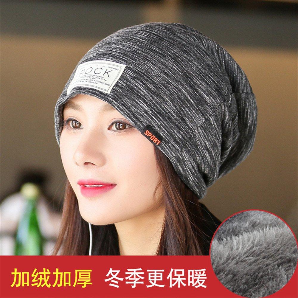 Impostare cappuccio di testa dei bambini tutti-match inverno plus sciarpa in velluto mese postpartum Baotou caldo pila di chemioterapia cappuccio del,tratto libero,Black Velvet