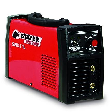 Stayer - S60-17L - Grupo Soldadura Mma Inverter 5Kva