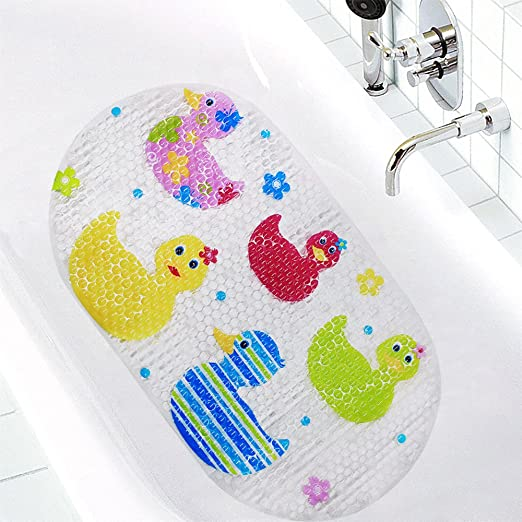 Topsky Rutschfeste Badematte Kinder Dusche Matte Mit Saugnapfen