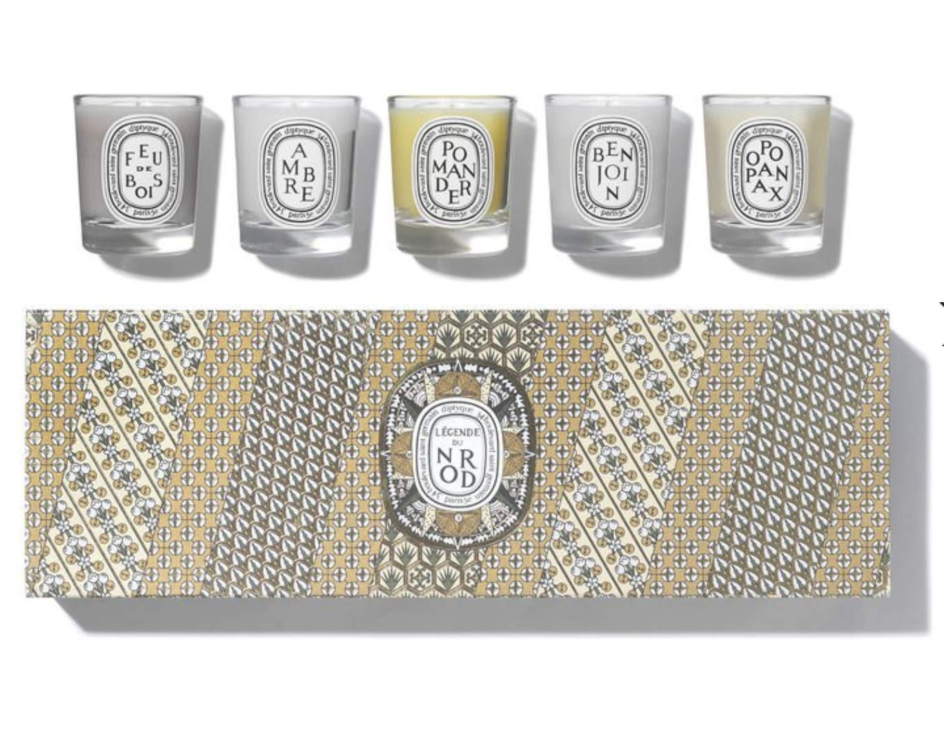 Diptyque Holiday Set of 20 Candles CHRISTMAS 20
